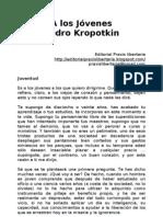 Pedro Kropotkin - A Los Jovenes