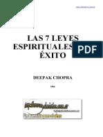Las 7 Leyes Espirituales Del Exito