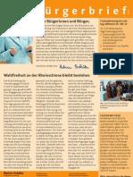 Nr. 5 August 2007_Buergerbrief