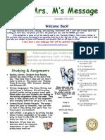 newsletter- december 2013