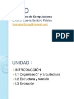 Clase de Arquitectura de Comp Unidad 12
