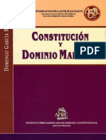 Constitucion y Dominio Maritimo