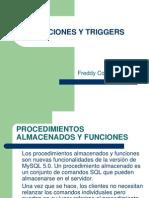 Funciones y Triggers