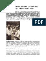 Entrevista a Erich Fromm