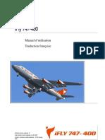 iFly 747-400 - Manuel d'utilisation - Traduction française - French translation