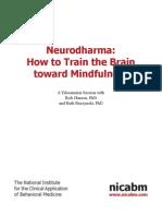 Neurobiology of Mindfulness