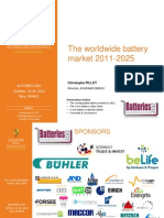 Batteries 2012 Avicenne Energy Batteries Market Towards 20251