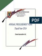 APP 2014 for GAA Budget.xlsx-Combination