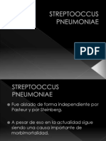 STREPTOOCCUS PNEUMONIAE