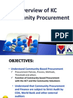 KC Procurement Presentation