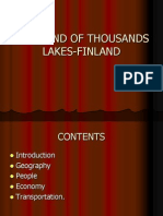 The Land of Thousands Lakes-finland