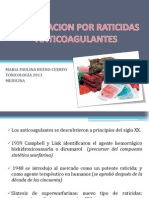 Intoxicacion Por Raticidas Anticoagulantes