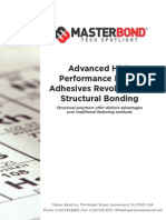 Master Bond Advanced High Performance Epoxy Adhesives Revolutionize Structural Bonding