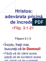 Indemn La Credinciosie Fata de Hristos - Power-Point - 259