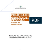 Manual Avaliação de Desempenho