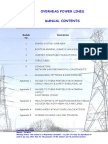Overhead Power Line Manual 111