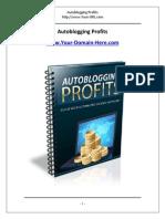 Autoblogging Profits