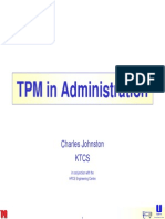 Example of TPM in Office Europe