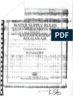 Water Supply Rule_JKR Requirement
