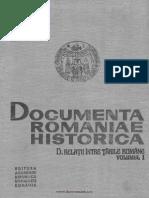 Documenta Romaniae Historica