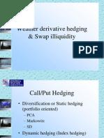 Derivatives Hedging Swaps
