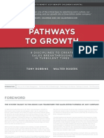 Pathways to Growth