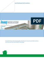 Knauf Earthwool Insulation Guide