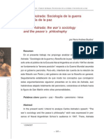 Sociologia de La Guerra Filosofia de Al Paz