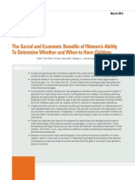 Social Economic Benefits