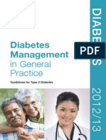 Diabetes Management in General Practice 2013