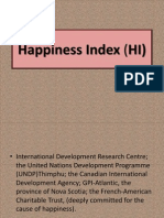 Happiness Index Unit 1