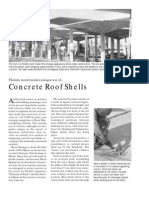 Concrete Roof Shells