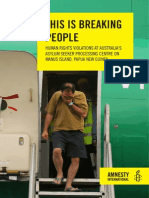 'This is Breaking People' report
