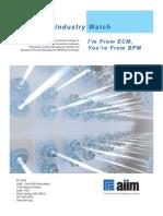 Ecm Bpm Industrywatch