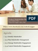 Pmp 10 Stakeholder Management