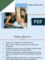 Ch 4 Writing a Business Plan