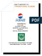 Project Report on Pepsi Fbkc