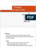 market communication of fast food outlets