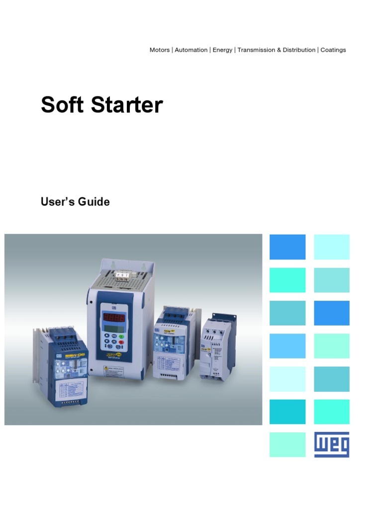 Weg Soft Starter Manual Usass11 Brochure English 1 Circuit Breaker 2 Pole 25a 230v 50 60hz For Gasoline Diesel Generators Electromagnetic Induction Electrical Components
