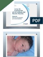 Curso de actualización en el cuidado del recién nacido Charla IV