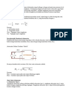 Attenuation and Distortion