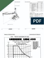 Datos Tecnicos Liebherr LHM400