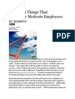 The Top 9 Things That Ultimately Motivate Employees to Achieve
