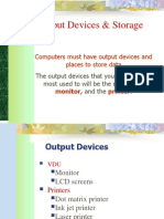 Output- Storage Devices - BH