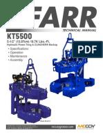 FarrKT5500 wCBU Manual Rev092012