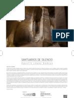 """Exposición fotográfica """"SANTUARIOS DEL SILENCIO"""""""
