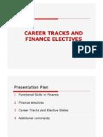 Finance Electives Presentation