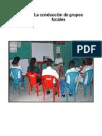 Conduccion de Grupos Focales