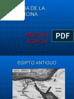 Clase 3.Hdlm. Medicina Egipcia
