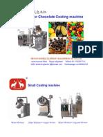 Sugar or Chocolate Coating Machine